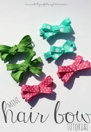 toddler hair bows mini hair bow tutorial wait til your gets home