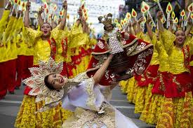 sinulog philippines tradition an asia admiration