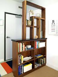 bookcase design bookcase room dividers s divider solid back