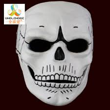 skeleton face for halloween compare prices on skull mask 007 online shopping buy low price