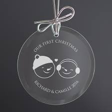 couple u0027s first christmas ornament