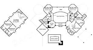 chateau novella luxury house plan small castle plan