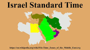 Detailed World Map Standard Time by Israel Standard Time Youtube