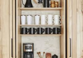 coffee kitchen cabinet ideas how to set up a stylish coffee bar in your own home