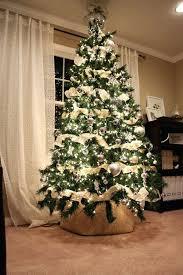 ribbon christmas tree burlap ribbon christmas tree burlap ribbon around christmas tree