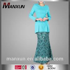 model baju kebaya muslim beautiful buju kurung and baju melayu mermaid like with