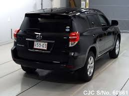2012 toyota vanguard black for sale stock no 60661 japanese