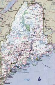 map of maine cities large detailed roads and highways map of maine state with all