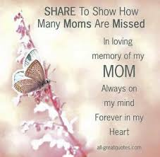Quotes For Mother S Day 10 Image Quotes For Moms In Heaven On Mother U0027s Day