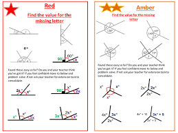finding missing angles in triangles worksheet calculate missing angles ks3 gcse by onitmaths teaching