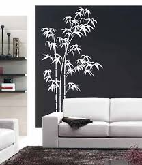 Tree Wall Decals For Living Room Bamboo Wall Decal Bedroom Living Room Large Tree Stickers