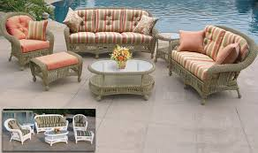 wonderful incredible outdoor wicker chair cushions patio within