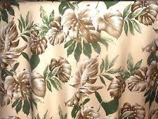Hawaiian Curtain Fabric Pictorial Tropical Shower Curtains Ebay