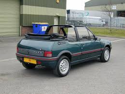 peugeot convertible used 1995 peugeot 205 for sale in yorkshire pistonheads