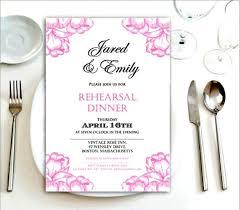 Wedding Rehearsal Dinner Invitations Templates Free Psd Invitation Templates Invitation Template