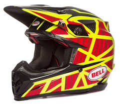bell helmets motocross bell helmet moto 9 carbon flex strapped yellow black 2017