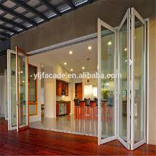 Interior Folding Glass Doors Remarkable Folding Glass Doors For Patio Pictures Ideas House