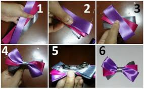 how to make hair bow diy hair bows 3 ribbons how to make a ribbon hair bow