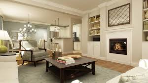a flush mounted fireplace with optional molding package hardwood