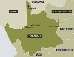 africa map kalahari africa map kalahari