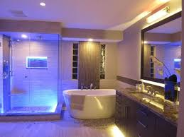 Recessed Light Bathroom Bathroom Recessed Lighting Ideas Wooden Laminated Floor White