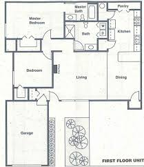 Apartment Over Garage Floor Plans Apt Lower Floor Plans