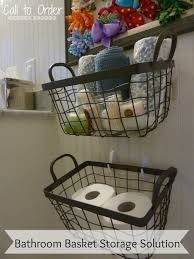 Small Bathroom Storage Boxes by Bathroom Bathroom Storage Baskets As Perfect Option To Limited
