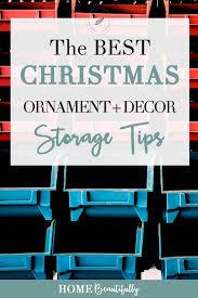 storage tips the best christmas ornament storage holiday decor organization tips