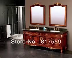 Wooden Bathroom Furniture Online Get Cheap Wood Bathroom Cabinets Aliexpress Com Alibaba
