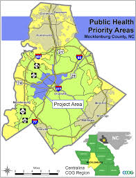 Map Of Charlotte Mecklenburg County Nc Centralina Health Solutions Coalition