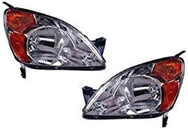 honda crv headlight replacement amazon com honda crv replacement headlight unit 1 pair automotive