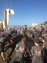 top fundraisers again for the leap sandcastle contest butler