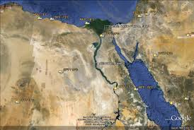 Egypt On Map Geography Of Egypt Thinglink