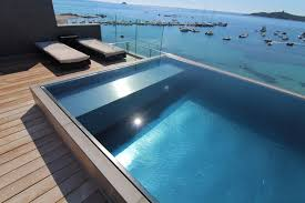 Spa Inox Prix Luxe Pools Stainless Steel Pool Distributed By Paramount Pools