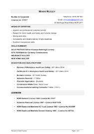 resume of mark hussey 2014