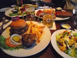 our dinner order picture of rock cafe hamburg tripadvisor