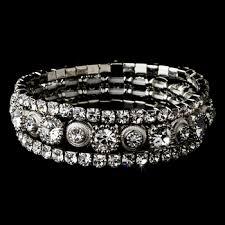silver rhinestone bracelet images Rhinestone bracelets jpeg