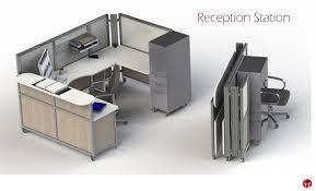 Mobile Reception Desk The Office Leader Peblo Mobile Portable Folding U Shape Reception