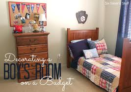 Design My Home On A Budget by Decorating A Boys Bedroom On A Budget Six Sisters Stuff With Photo