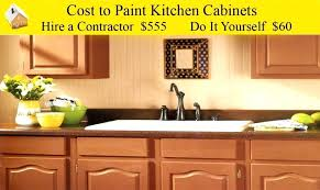 Average Price For Kitchen Cabinets Cost Of Painting Kitchen Cabinets U2013 Fitbooster Me