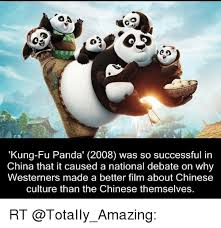 Meme Kung Fu - co kung fu panda 2008 was so successful in china that it caused a