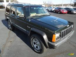 1995 dark green jeep cherokee 4x4 74925470 gtcarlot com car