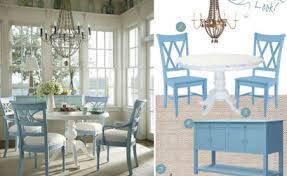 coastal dining room table coastal dining room the distinctive cottage
