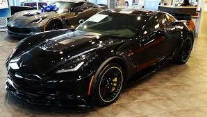 corvette c7 z06 price two c7 r 3lz z06 corvettes available black yellow at msrp