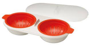 joseph ustensile de cuisine cuiseur micro ondes m cuisine pour oeufs pochés orange