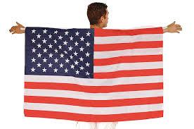 red cape spirit halloween amazon com augila american flag body cape toys u0026 games