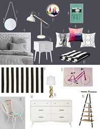 White Bedroom Pop Color Design Evolving Gray Black And White Bedroom With Pops Of Color