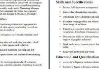 Marketing Assistant Job Description For Resume Marketing Agency Job Descriptions Fred Resumes