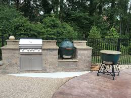outdoor kitchen island u2014 big green egg egghead forum the