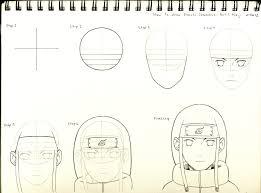drawn naruto naruto character pencil and in color drawn naruto